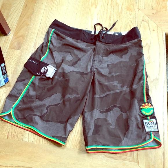 8820b069f0 Billabong Other - BoB Marley Billabong board shorts- size 34
